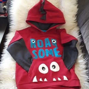 Monster Sweater Boys Size 8